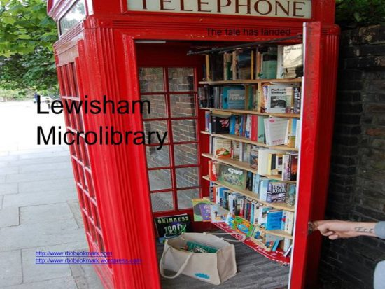 Lewisham Micro Library, London.